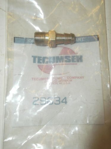 Tecumseh 29634 Carb Fuel Fitting